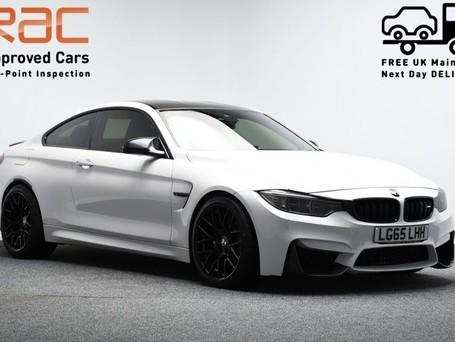 BMW M4 *CARBON DETAILING* 3.0 M4 2d 500++ BHP ***SAT NAV-DAB-BLUETOOTH***