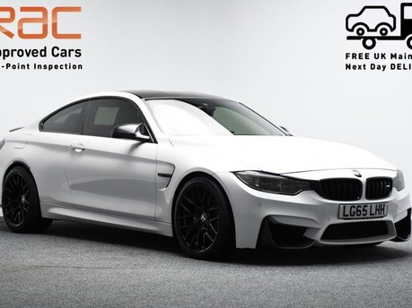 BMW M4 *CARBON DETAILING* 3.0 M4 2d 500++ BHP ***SAT NAV-DAB-BLUETOOTH*** 1