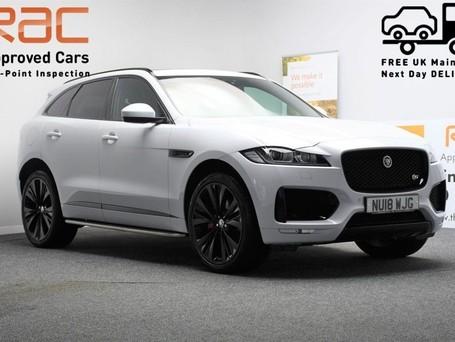 Jaguar F-Pace **PANORAMIC ROOF**3.0 V6 S AWD 5d 296 BHP ***PANORAMIC GLASS SUNROOF***