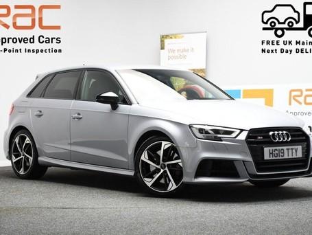 Audi S3 2.0 S3 SPORTBACK TFSI QUATTRO BLACK EDITION 5d 296 BHP Air Con - Rear Parki