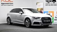 Audi A3 1.0 SPORTBACK TFSI S LINE 5d 114 BHP ***SAT NAV-DAB-BLUETOOTH*** 1