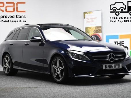 Mercedes-Benz C Class 2.1 C250 BLUETEC AMG LINE PREMIUM 5d 204 BHP