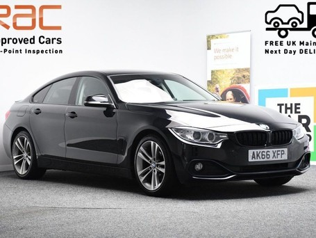 BMW 4 Series 2.0 420D SPORT GRAN COUPE 4d 188 BHP HEATED LEATHER SEATS