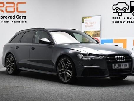 Audi A6 AVANT TFSI S LINE BLACK EDITION
