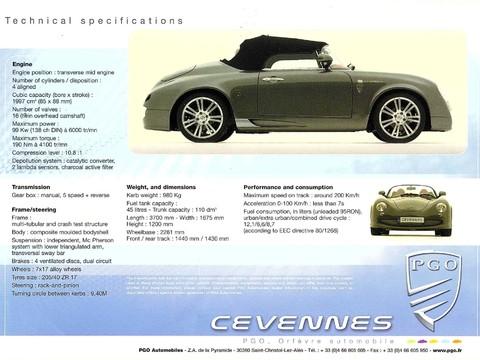 PGO Cevennes Rare RHD 71