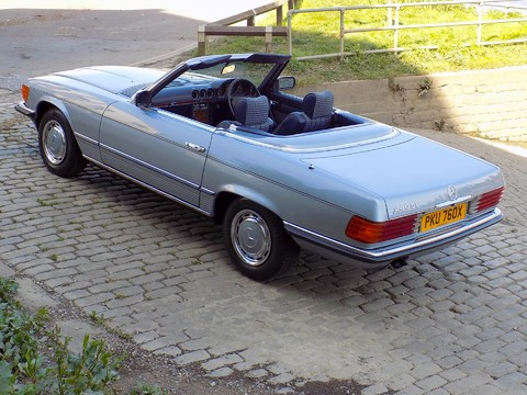 Mercedes-Benz SL Series 280 SL 21