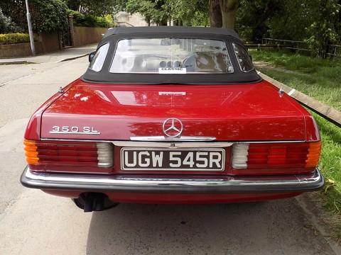 Mercedes-Benz SL Series 350 SL 12