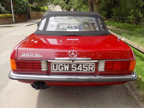 Mercedes-Benz SL Series 350 SL 61