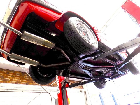 Triumph TR6 150bhp 54