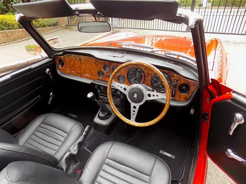 Triumph TR6 150bhp 60