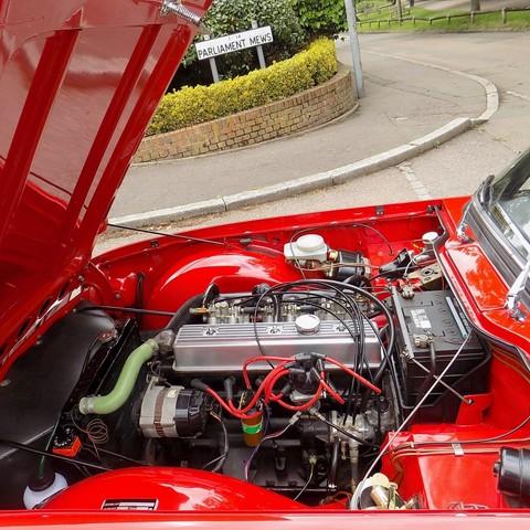 Triumph TR6 150bhp