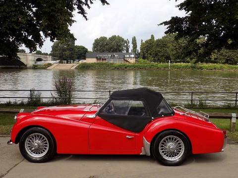 Triumph TR3 TR3A 6