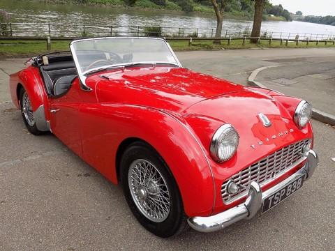 Triumph TR3 TR3A 19