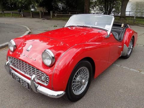 Triumph TR3 TR3A 21