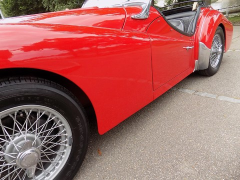 Triumph TR3 TR3A 22