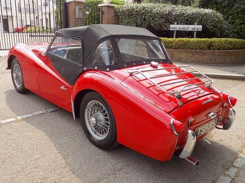 Triumph TR3 TR3A 34