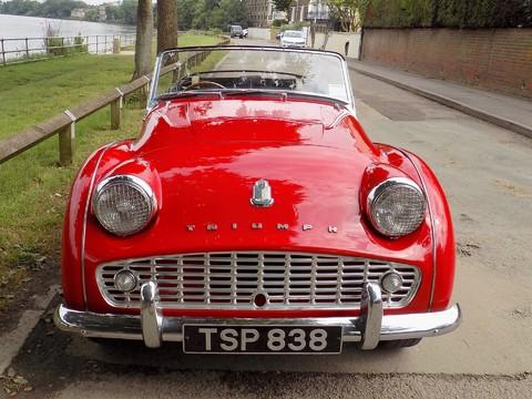 Triumph TR3 TR3A 47