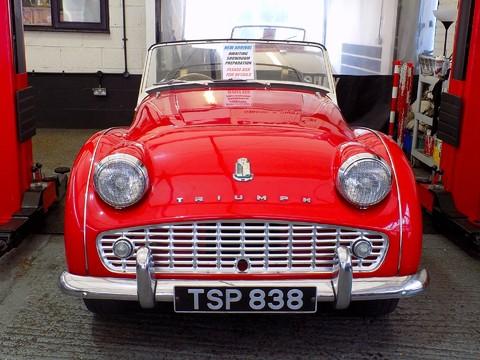 Triumph TR3 TR3A 74