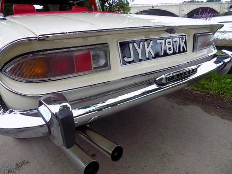 Triumph Stag MK1 - Manual with Overdrive 3