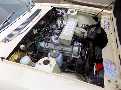 Triumph Stag MK1 - Manual with Overdrive 4