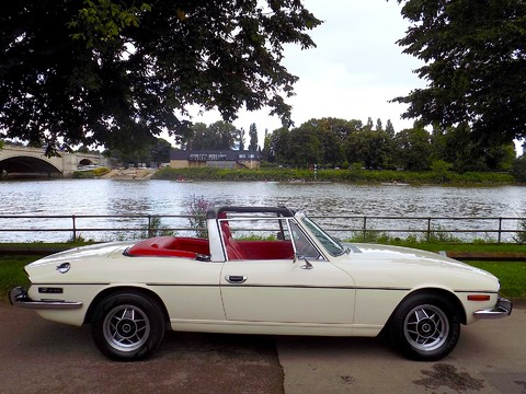 Triumph Stag MK1 - Manual with Overdrive 5
