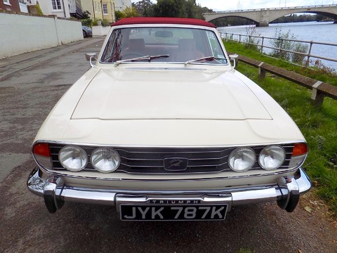 Triumph Stag MK1 - Manual with Overdrive 29