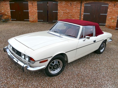 Triumph Stag MK1 - Manual with Overdrive 42