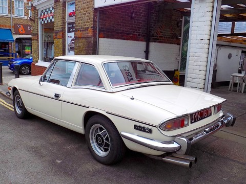 Triumph Stag MK1 - Manual with Overdrive 43