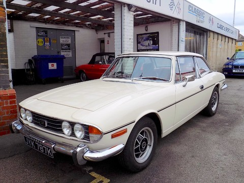 Triumph Stag MK1 - Manual with Overdrive 44