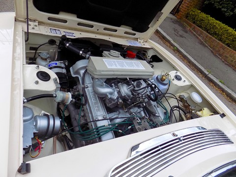 Triumph Stag MK1 - Manual with Overdrive 45