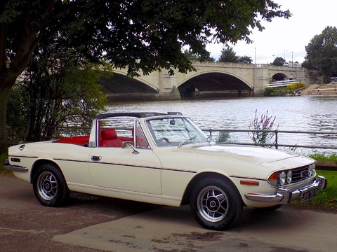 Triumph Stag MK1 - Manual with Overdrive 47