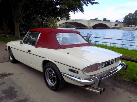 Triumph Stag MK1 - Manual with Overdrive 83