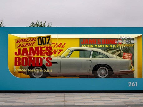 Aston Martin unveils life-size iconic Corgi DB5 as it launches No Time To Die campaign 2
