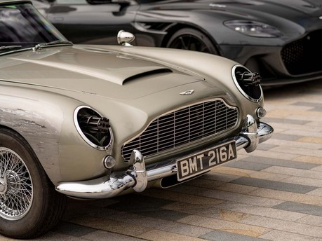 Aston Martin unveils life-size iconic Corgi DB5 as it launches No Time To Die campaign 3
