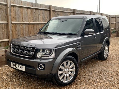 Land Rover Discovery SDV6 COMMERCIAL XS 4