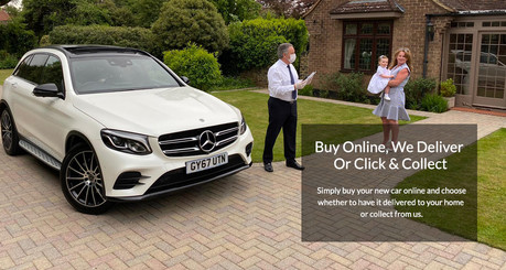 Buy Online, We Deliver or Collect From Dealership