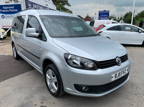 Volkswagen Caddy C20 LIFE TDI 7 Seater Automatic 104,000 Miles