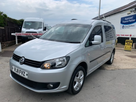 Volkswagen Caddy C20 LIFE TDI 7 Seater Automatic 104,000 Miles 8