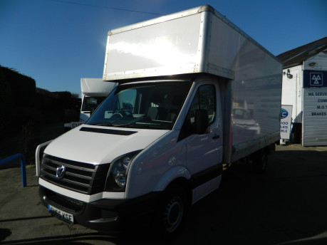 Volkswagen Crafter CR35 TDI C/C Luton with Taillift 70,000 Miles 8