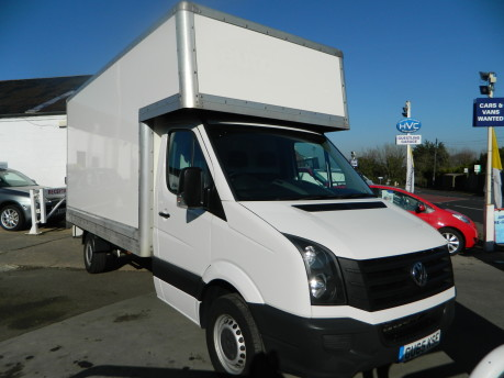 Volkswagen Crafter CR35 TDI C/C Luton with Taillift 70,000 Miles 1