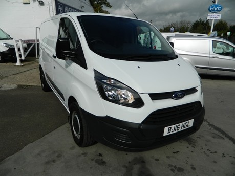 Ford Transit Custom 290 LR P/V ECO -TECH *NO VAT* 51000 MILES