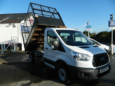 Ford Transit 350 DRW Caged Tipper 25,000 Miles