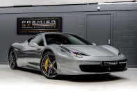 Ferrari 458 ITALIA 4.5 V8 DCT COUPE. SORRY, THIS VEHICLE IS NOW SOLD.