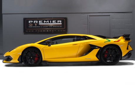 Lamborghini Aventador SVJ LP770-4 6.5 V12, VAT-QUALIFYING, £40,000 OF OPTIONS INC EXT CARBON PACK 5