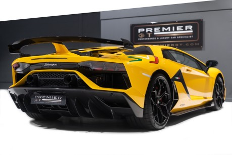 Lamborghini Aventador SVJ LP770-4 6.5 V12, VAT-QUALIFYING, £40,000 OF OPTIONS INC EXT CARBON PACK 6