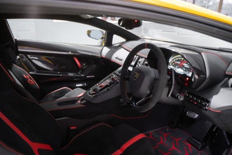 Lamborghini Aventador SVJ LP770-4 6.5 V12, VAT-QUALIFYING, £40,000 OF OPTIONS INC EXT CARBON PACK 52