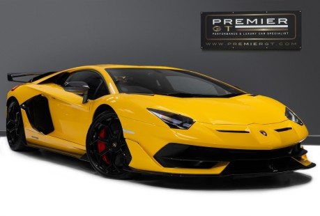 Lamborghini Aventador SVJ LP770-4 6.5 V12, VAT-QUALIFYING, £40,000 OF OPTIONS INC EXT CARBON PACK 1