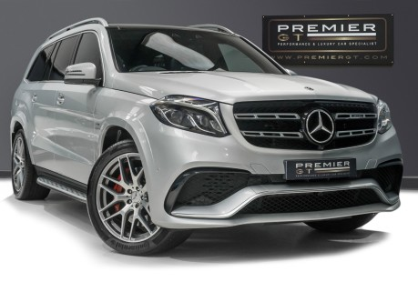 Mercedes-Benz GLS AMG GLS 63 4MATIC, PANORAMIC GLASS ROOF, ADAPTIVE HIGH BEAM ASSIST PLUS 1