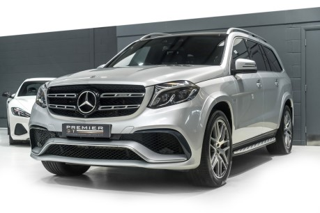 Mercedes-Benz GLS AMG GLS 63 4MATIC, PANORAMIC GLASS ROOF, ADAPTIVE HIGH BEAM ASSIST PLUS 3
