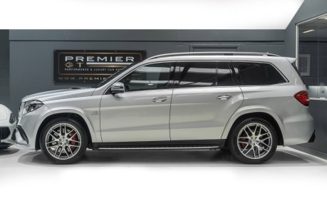 Mercedes-Benz GLS AMG GLS 63 4MATIC, PANORAMIC GLASS ROOF, ADAPTIVE HIGH BEAM ASSIST PLUS 4